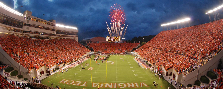 Fireworks, Night, Arena, Stadium, Crowd