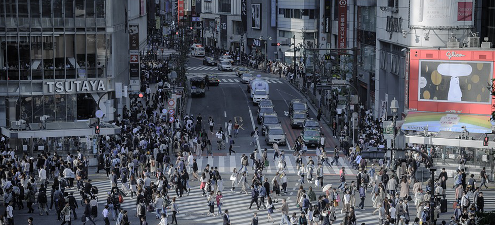 Stage, Crowd, Person, Intersection, Road, Pedestrian