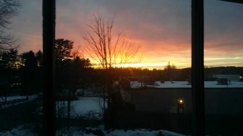 Dawn, Dusk, Nature, Outdoors, Red Sky, Sky, Sunrise, Sunset, Flora, Jar